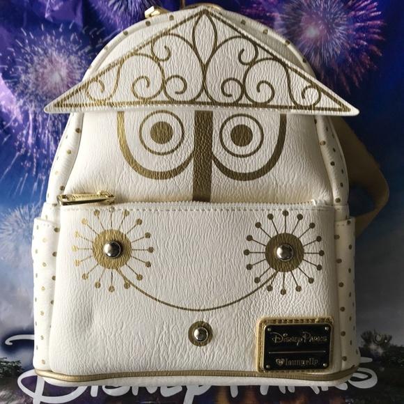 Disney Handbags - Disney Parks Loungefly It's A Small World Clock